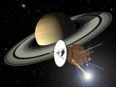 Cassini-Huygens at Saturn