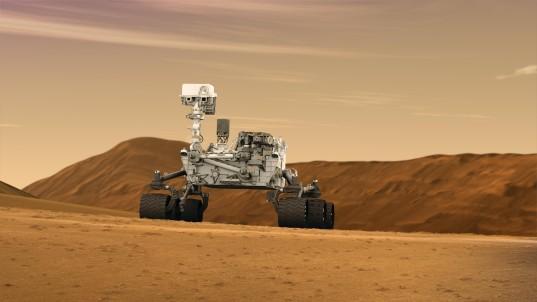 Curiosity, or Mars Science Laboratory