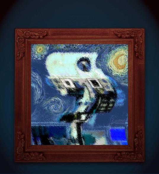 What if van Gogh had painted Curiosity?