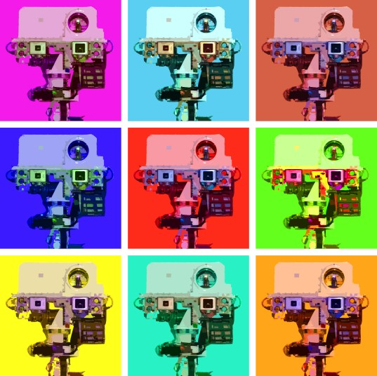 What if Warhol had painted Curiosity?
