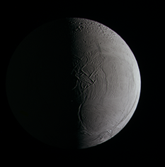 Enceladus in color