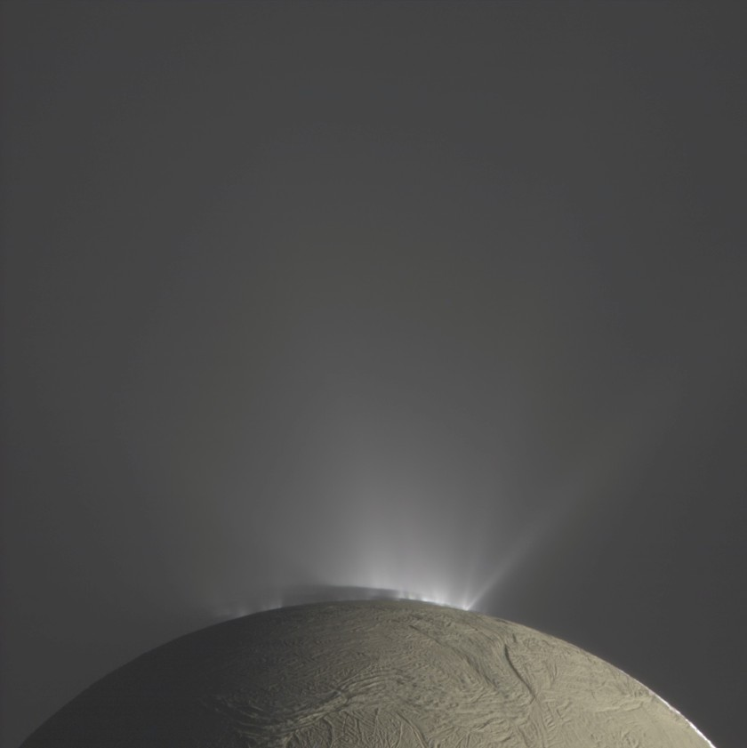Fountains of Enceladus