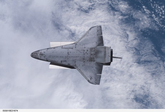 Endeavour's belly