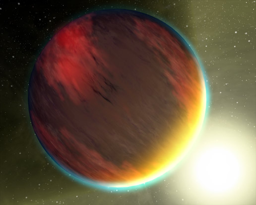 Hot Jupiter with silicate cloud cover