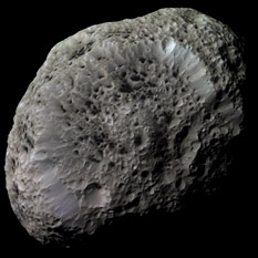 Color mosaic of Hyperion
