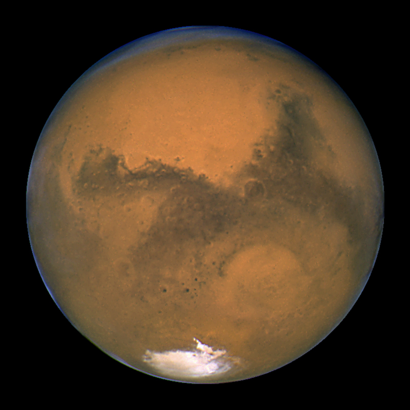 Mars during the 2003 opposition
