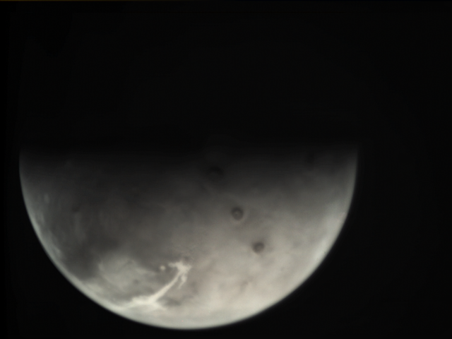 Example raw Mars Express VMC image