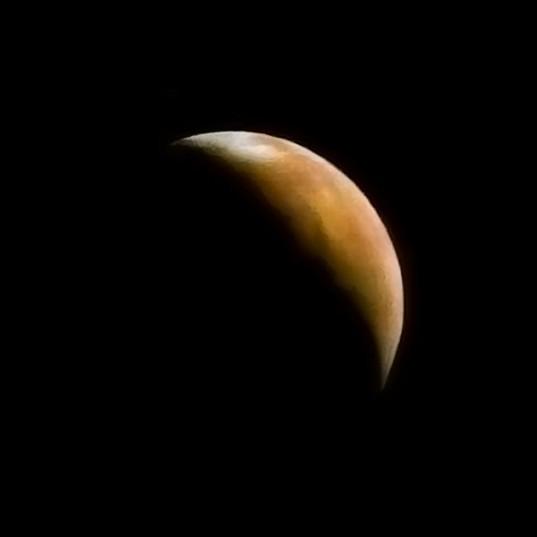 Crescent Mars, from Mars 3