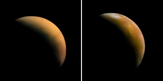 Mars 3 arrives to a dust-shrouded planet