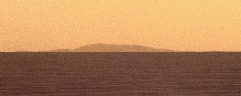 Far rim of Endeavour, Opportunity sol 2636