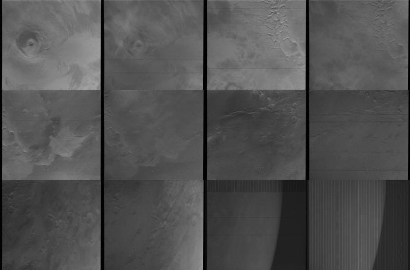 Original data for Daniel Macháček's Viking 1 view of Mars