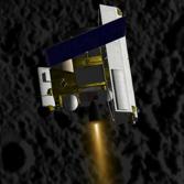 MESSENGER entering orbit at Mercury