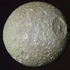 Mimas in color