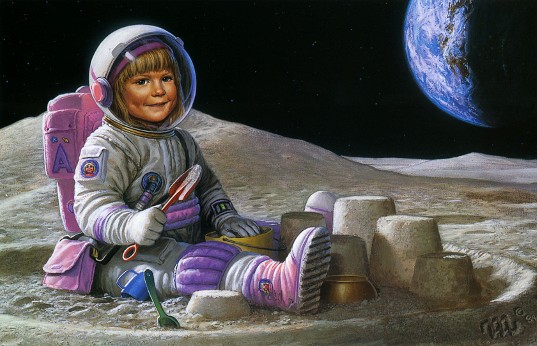 The Ultimate Sandbox, by Michael Whelan