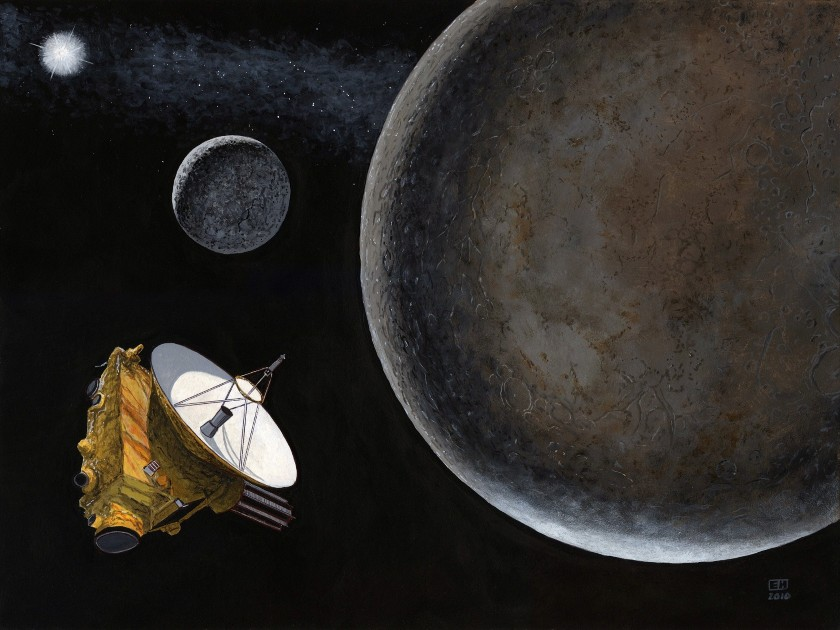 New Horizons at Pluto and Charon