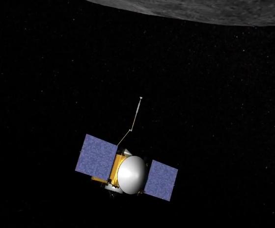 OSIRIS-REx grabs a sample