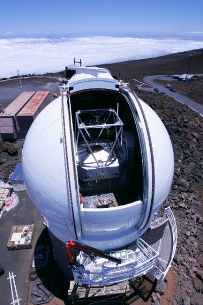 Pan-STARRS 1 under construction