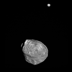 Phobos and Jupiter