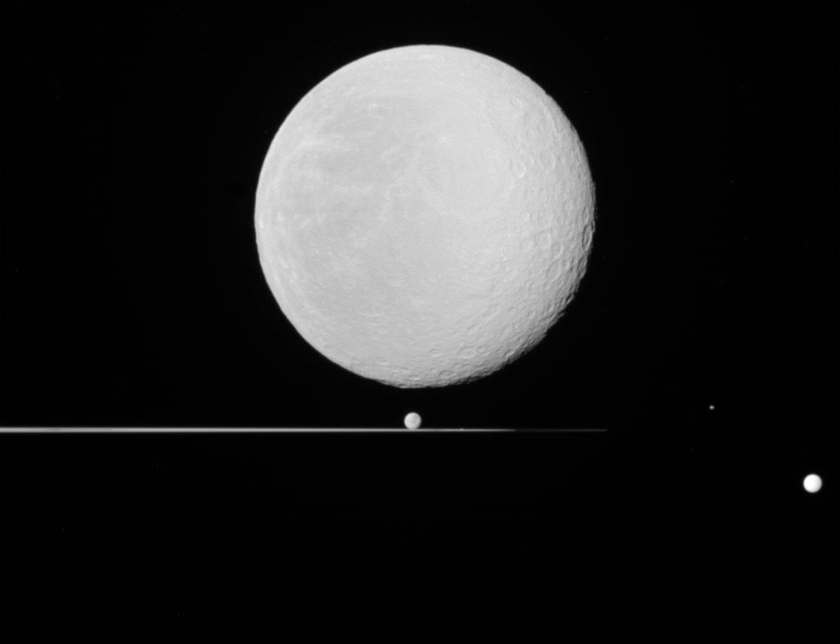 Five moons