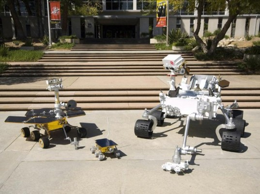 Rover family portrait