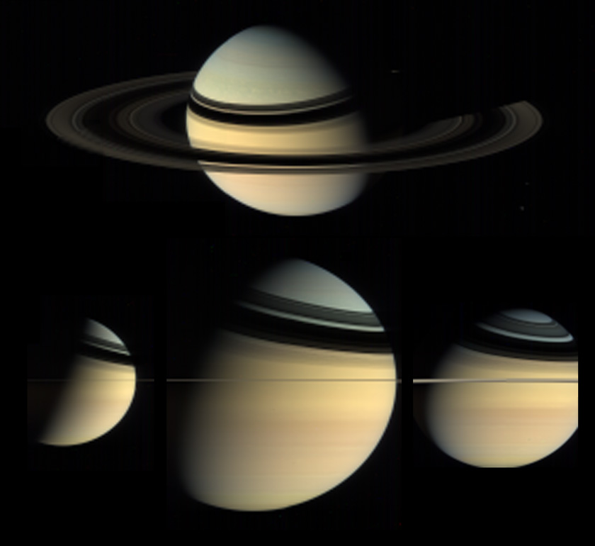 Saturn as seen from VIMS