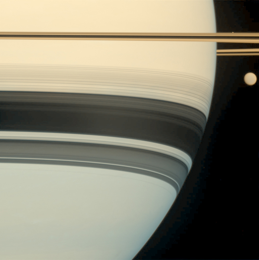 Saturn, Titan, and Prometheus