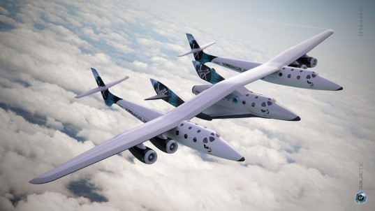 WhiteKnightTwo and SpaceShipTwo