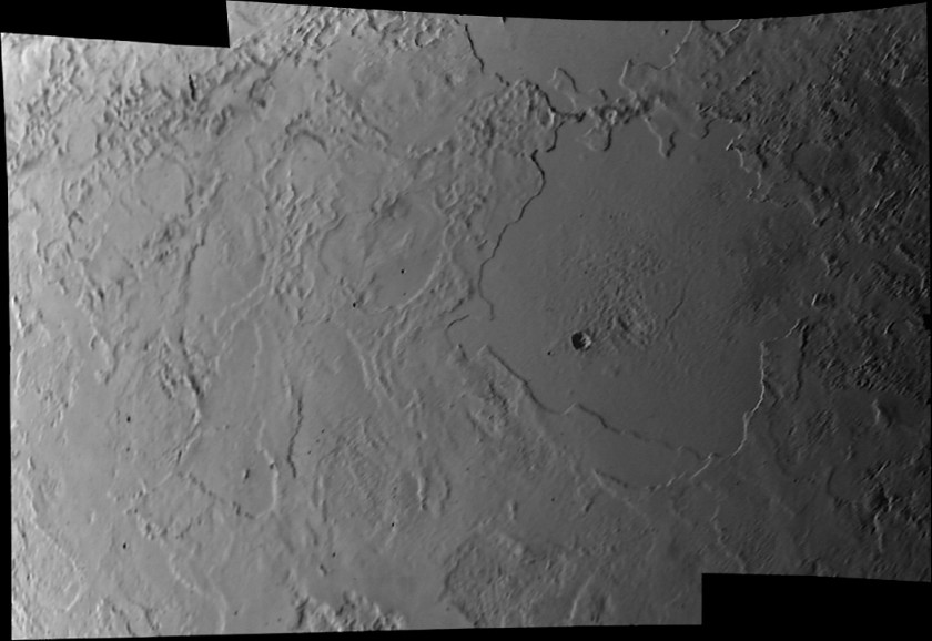 High-resolution view of Triton's surface from Voyager 2