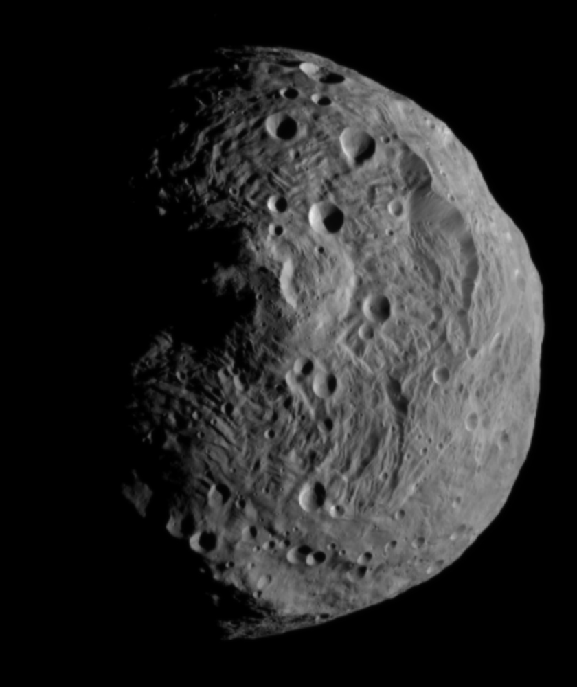 Vesta from 15,000 kilometers