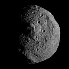 Vesta from 15,000 kilometers