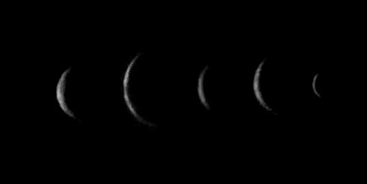 The crescent moons of Uranus