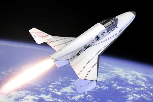 XCOR's Lynx suborbital space plane