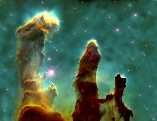 Pillars of Creation - Hubble Telescope