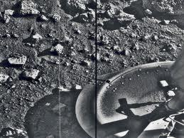 Viking's 1st Image on Mars