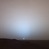 Sunrise on Mars