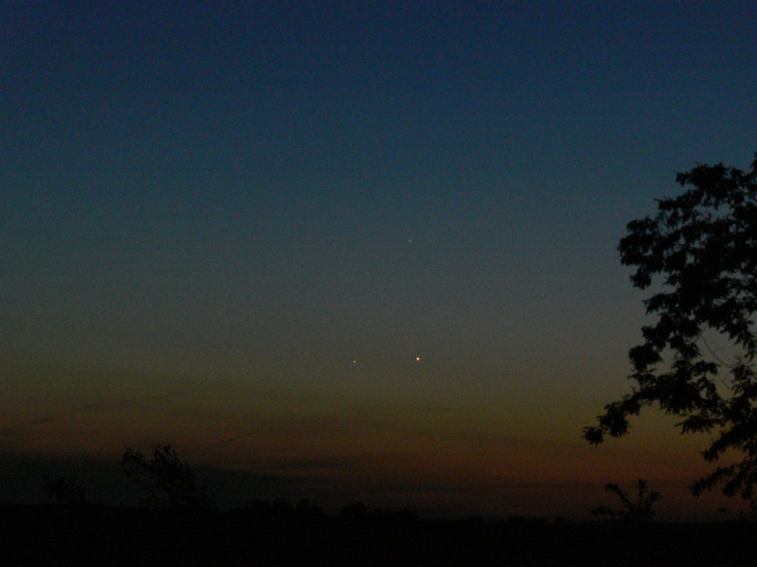 Planetary Conjunction May 28, 2013