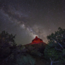 Milky Way over Bell Rock