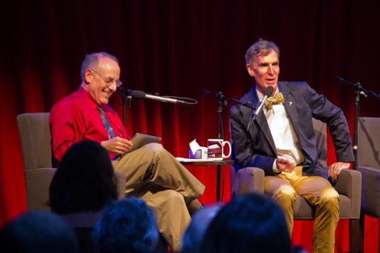 Mat Kaplan and Bill Nye on Planetary Radio Live