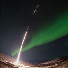 Rocking into the aurora