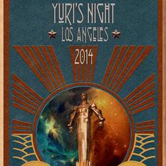 Yuri's Night L.A. 2014 poster