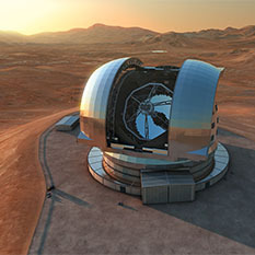 European Extremely Large Telescope E-ELT