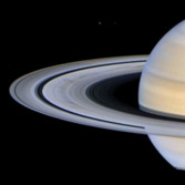Saturn's rings by Ian Regan