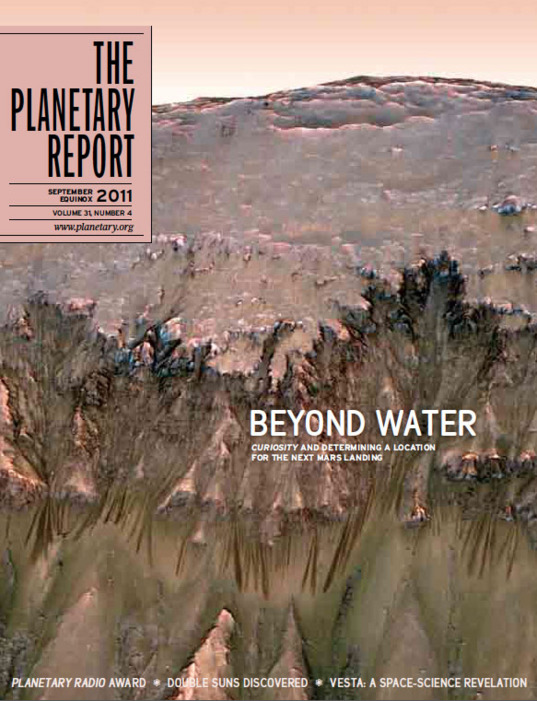 The Planetary Report, September 2011