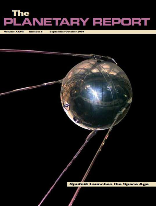 Sputnik Launches the Space Age