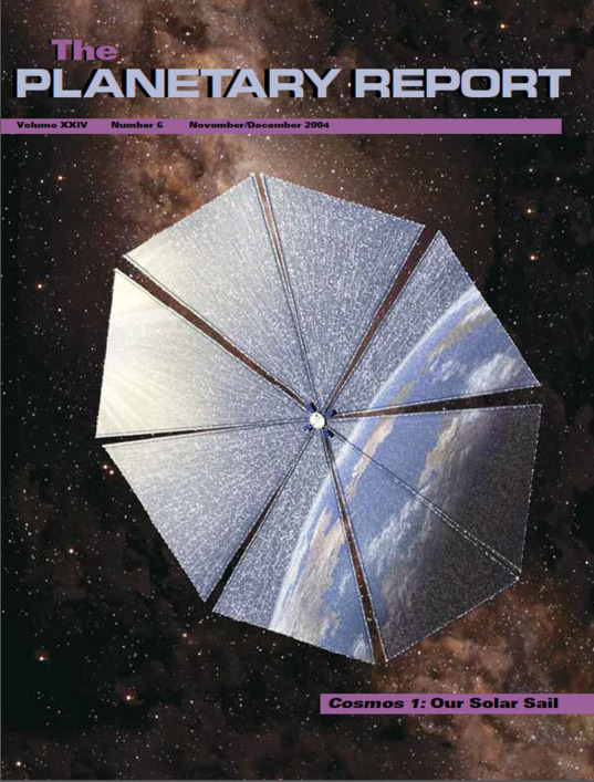 Cosmos 1: Our Solar Sail