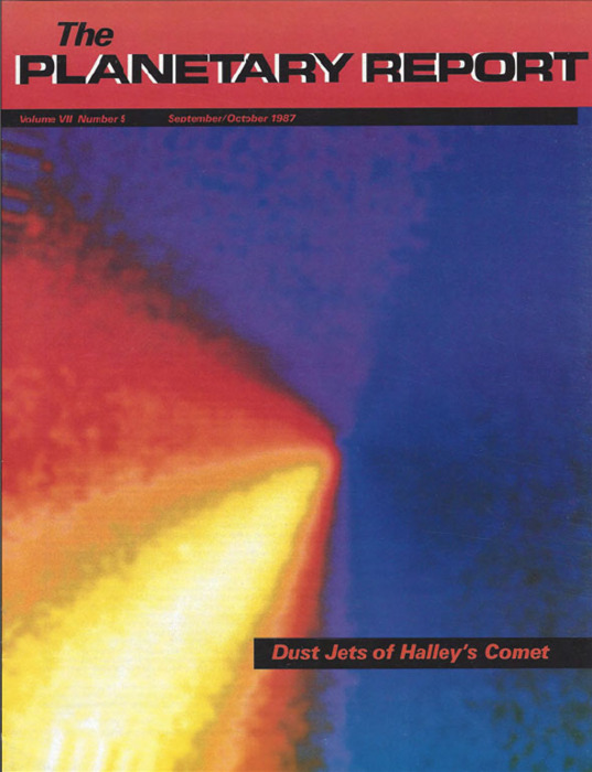 Dust Jets of Halley's Comet