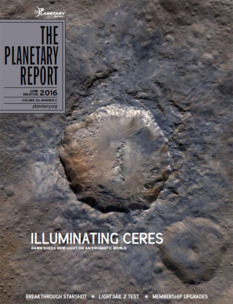 Summer 2016 issue of The Planetary Report