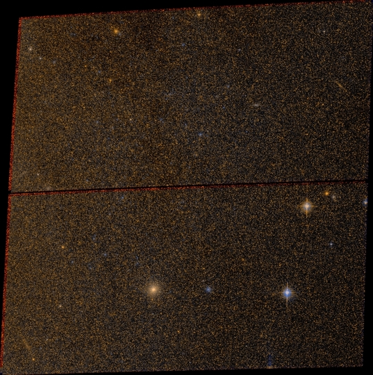 A small slice of Andromeda