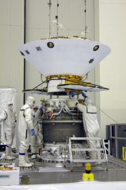 Phoenix is mated to its upper stage booster