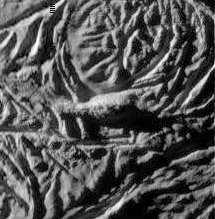 Funny lump in Enceladus' south polar terrain